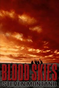 Blood Skies, Steven Montano, sale, Christmas, dystopian