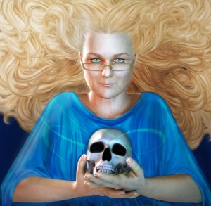 A vision of Rayne by artist Fawnheart