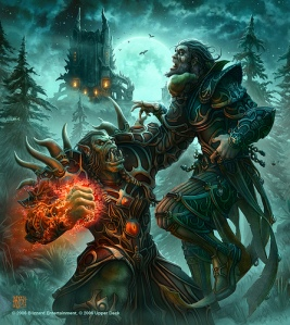 Orc Warlock.by VTda.info via Creative Commons, orc, warlock, orc battle