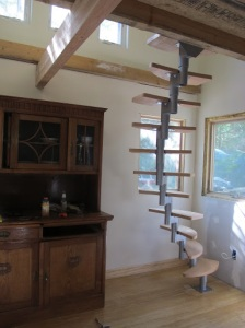 """... """"I built my own staircase."""""""