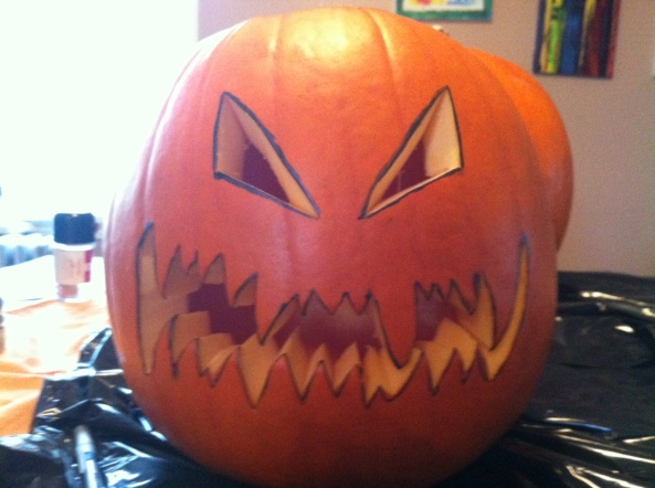 Halloween, scary, jack o' lantern, frightening, monster, pumpkin