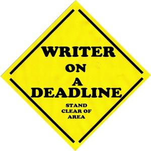 Writer on a Deadline