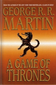Game of Thrones, George RR Martin, A Song of Ice and Fire