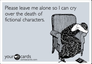 death of fictional character